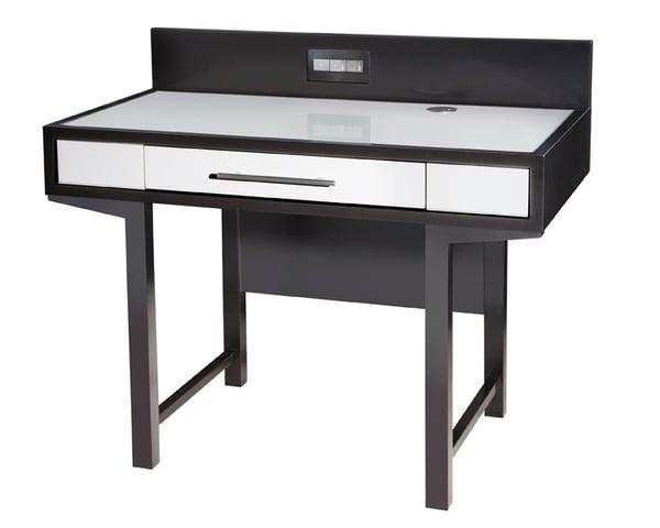 Custom Desk with power hub