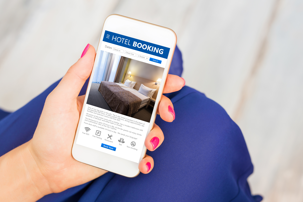 mobile hotel check in