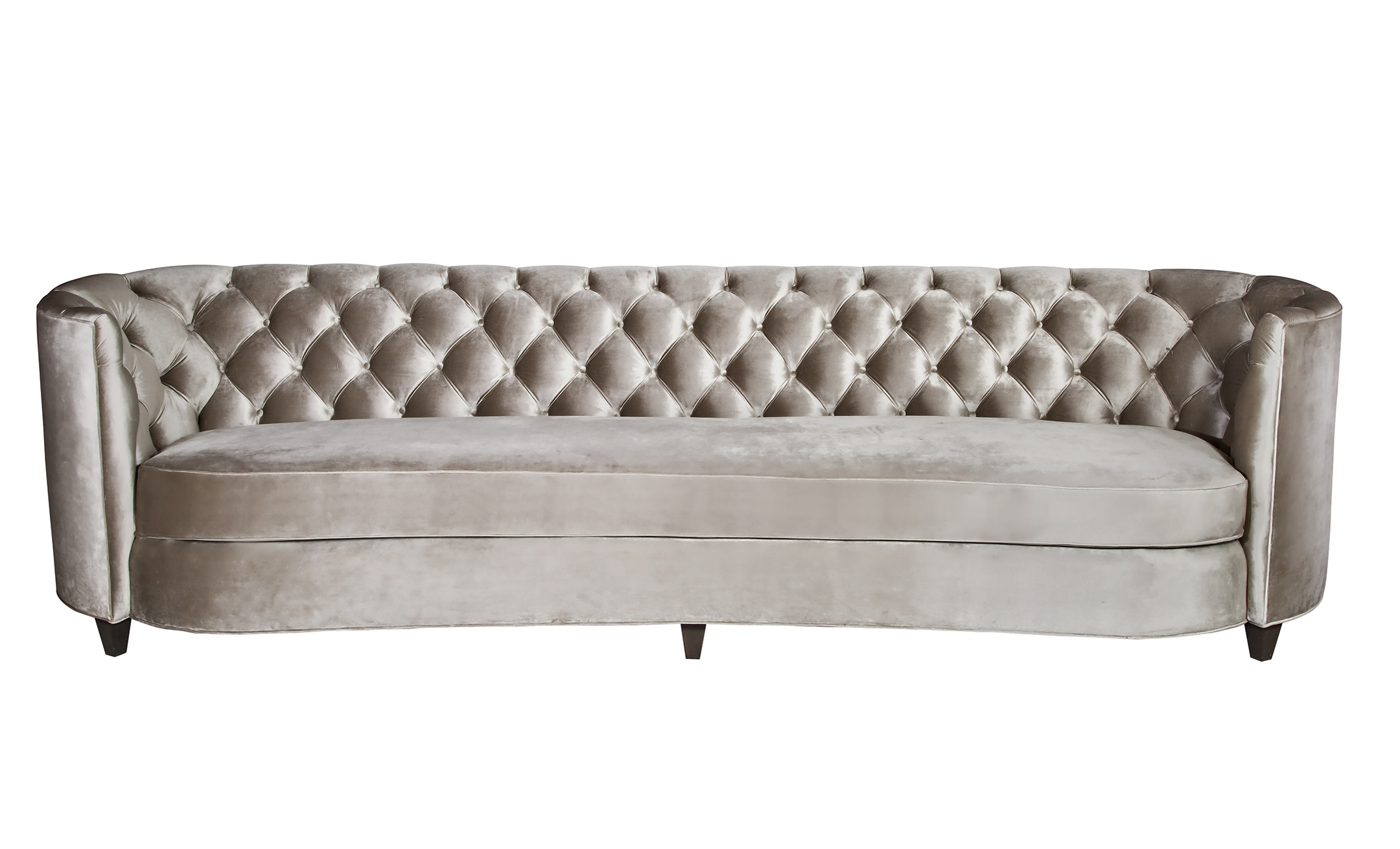 Diamond Tufting Samuelson Furniture 8638 Custom Sofa