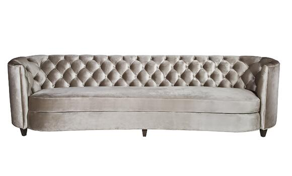 Diamond Tufting Samuelson Furniture 8638 Custom Sofa