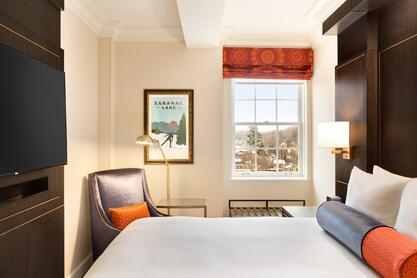 Hotel Saranac Guestroom Custom Furniture