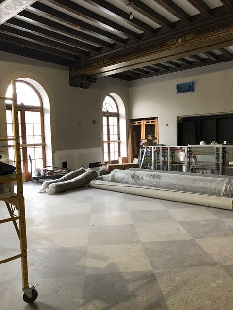 Hotel Saranac Great Hall Renovations